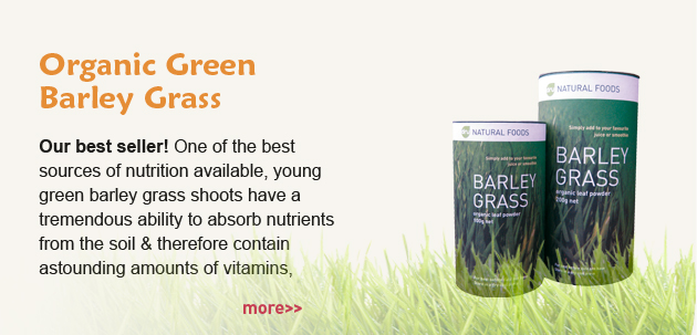 Organic Dru Green Barley Grass Powder